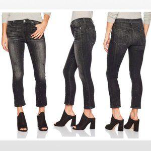 HUDSON Jeans Harper High Rise Crop Stars Size 26